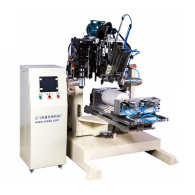Three-axis, Two-drill and one-plant cylinder brush machine